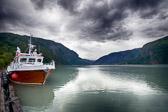 Å eg veit meg eit land langt der oppe mot nord, med ei lysande strand mellom høgfjell og fjord.  Elias Blix